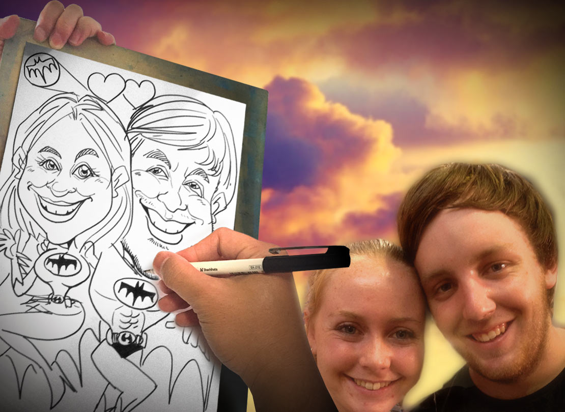 Live Party Caricature